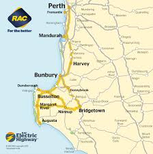 East Coast Time Zone Map by How To Get To Margaret River How To Get To Busselton