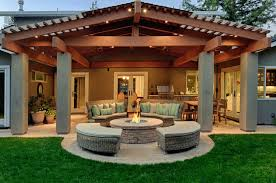 Budget Backyard Patio Ideas 50 Outdoor Fire Pit Ideas That Will Transform Your