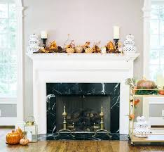 how to decorate your fireplace mantel for fall ways decorating brick ideas