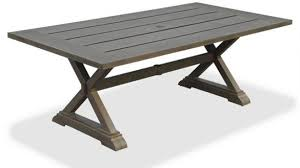 Aluminum Patio Dining Set Patio Dining Tables Patio Tables The Home Depot Intended For