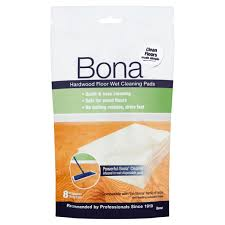 Bona For Laminate Floor Bona Hardwood Floor Wet Cleaning Pads 8 Ct Walmart Com