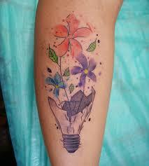 tatouage femme avant bras 34 magnifiques tatouages watercolor pour elle et lui automne