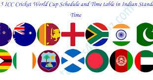 Cricket World Cup Table Icc Cricket World Cup 2015 Schedule U0026 Time Table Indian Time
