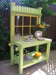 Outdoor Potting Bench With Sink Decor Potting Bench Kit Potting Table Ideas Potting Bench Lowes