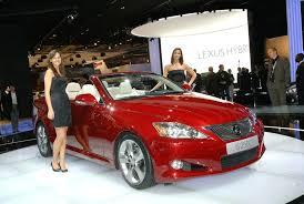 lexus is 250 convertible lexus is 250 convertible unveiled at motor it s