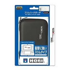 new 3ds xl black friday hori slim hard pouch case black for nintendo 3ds game protect