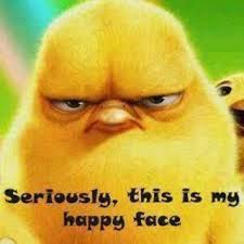 Happy Face Meme - seriously this is my happy face