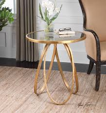 Accent Tables For Living Room by Montrez Gold Accent Table By Uttermost Wolf And Gardiner Wolf