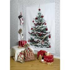 flat wall tree decor