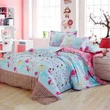 Cheap Kids Bedding Sets For Girls by Kids Cute Cat Pigment Print Cotton Duvet Cover Flat Sheet Pillow