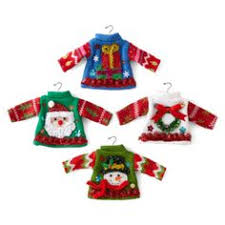 ugly sweater felt christmas ornaments u2013 hipster week ornament