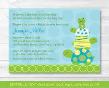 turtle baby shower turtle baby shower ebay