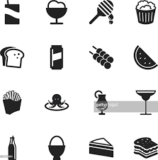 margarita silhouette beverage silhouette icons set 3 vector art getty images