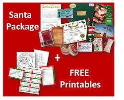 santa packages top santa letters