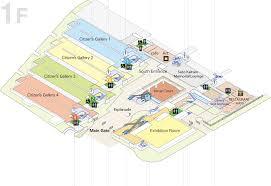 met museum floor plan floor map tokyo metropolitan art museum