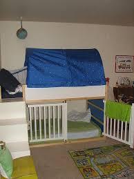Bunk Bed With Cot 17 Beste Ideeën Over Bunk Bed Crib Op Pinterest Peuter