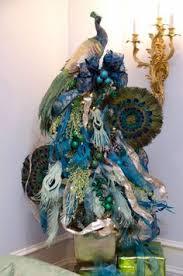 peacock christmas tree topper google search peacocks