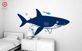 underwater shark xxl wall decal nursery kids rooms wall decals shark kids wall decals xxl
