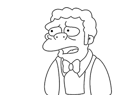 45 coloring pages simpsons images draw