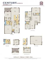 5 Bedroom Floor Plans 2 Story Marbella 2 New Homes In Orlando Fl Century Homes