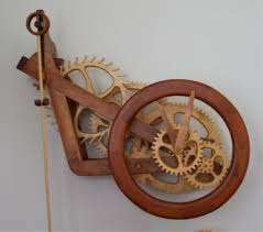 wooden gear clock plans from hawaii by clayton boyer time pieces