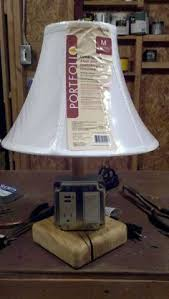 End Table Lamp Combo Build A Lamp Combo Usb Charger The Lamp Part Of It Like The