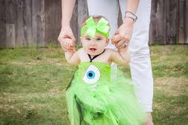 Monsters Inc Halloween Costumes For Toddlers by Mike Wazowski Halloween Tutu Monster Inc By Mommiezkreationz On