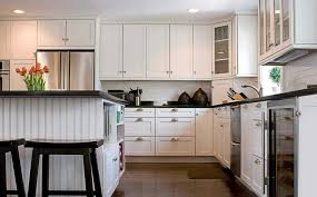 kitchen fine white kitchen ideas with white cabinet and beadboard