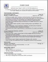 Healthcare Resume Templates Professional Medical Resume Phlebotomy Supervisor Resume Template