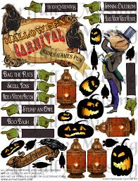 halloween carnival games artfully musing halloween carnival event collage sheet set giveaway