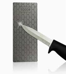 400 1000 grit diamond knife sharpening stone ceramic knife