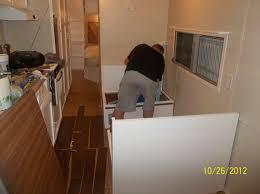 Rv Laminate Flooring Making Memories The Rv Remodel