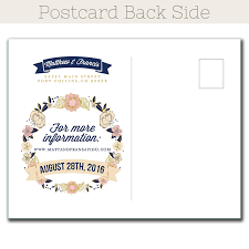 Save The Dates Postcards Wedding Bouquet Save The Date Postcard The Print Cafe