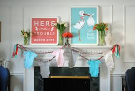 baby shower wall decorations amazing diy baby shower table decorations simple baby shower