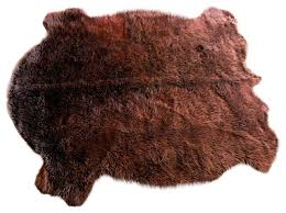 Bison Hide Rug Buffalo Hide Rugs Rugs Ideas