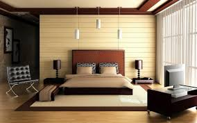 interior design simple style bedroom wallpaper other