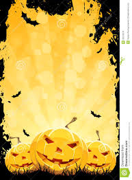 grungy halloween background with pumpkins stock images image