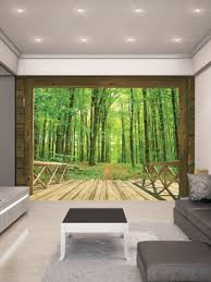 Temporary Wallpaper Uk Woodland Forest Wall Mural From Wall Rehab Temporary Wallpaper