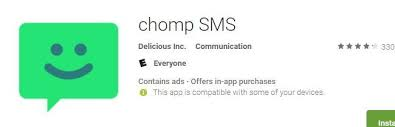 android smspush top 5 most popular android apps from last week chomp sms push