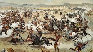 California Flag Horse Battle Of Little Bighorn Jun 25 1876 History Com