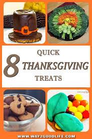 8 thanksgiving treats anyone can make