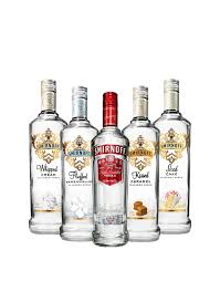 cosmopolitan bottle smirnoff collection 5 bottles buy online or send as a gift