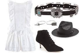how to wear a white dress in the fall teen vogue