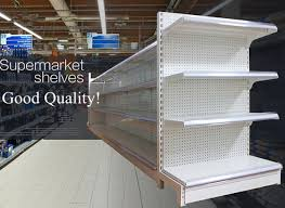 Peg Board Shelves by Supermarket Chain Retail Store Shelf Assembly Easily 45x90x150mm 4 Layers With Double Pegboard High Quality Safe Jpg