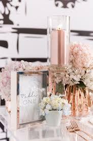 Ikea Vases Wedding Stunning 65 Rose Gold Centerpiece Wedding Ideas Best Wedding