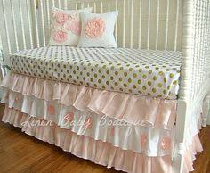 mix and match our sparkle caden lane crib sheets with any of your