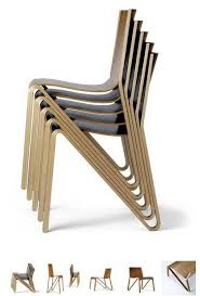 Stacking Chairs Design Ideas Zesty Light Stackable Chair By O4i Plywood Chair Stacking