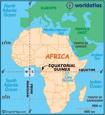 map of equator equatorial guinea map geography of equatorial guinea map of