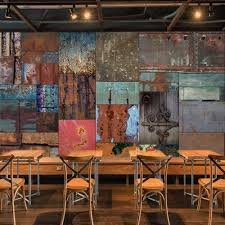 online get cheap cafe wall mural aliexpress com alibaba group custom 3d mural wallpaper retro iron sheet european style wall painting living room bar cafe backdrop 3d wall murals wallpaper