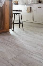 Travertine Effect Laminate Flooring Stainmaster 12 In X 24 In Groutable Oyster Travertine White Peel